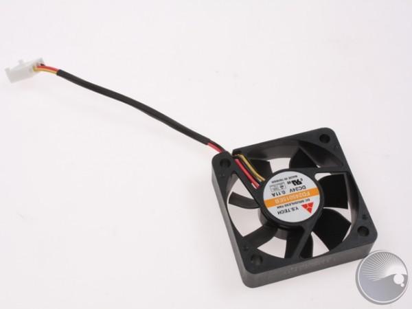 FAN 50x50x15 Axial 3-wire DC 24V