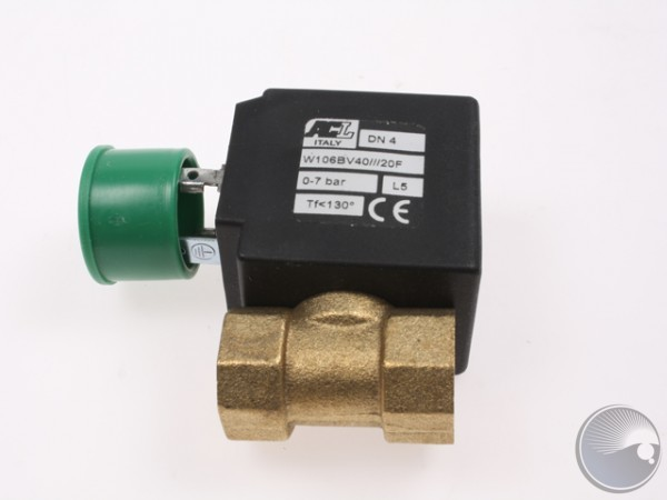 Valve,4mm,240V,7Bar,1/4 bsp
