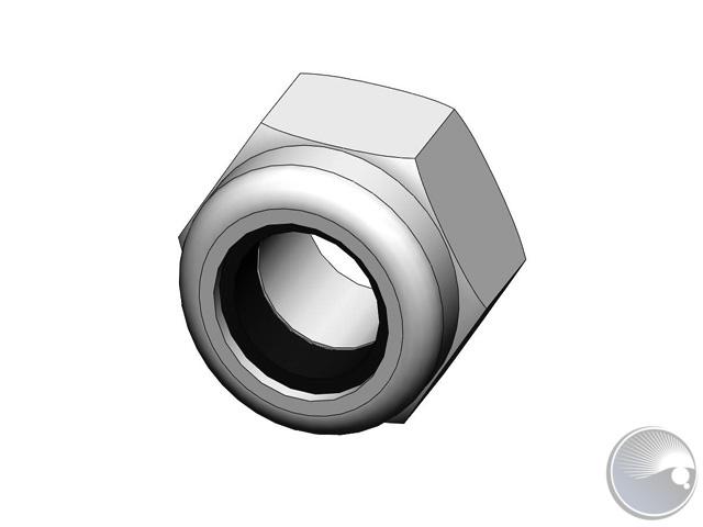 M3 nut lock PA shiny