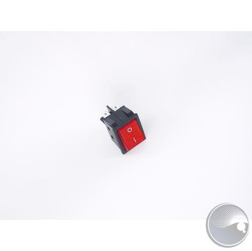 power switch red with LED RK1-01(w/UL certificate) (BOM#16)