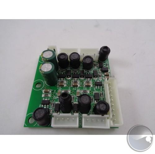 DRIVER PCB for LED board (B) (BOM#S08)