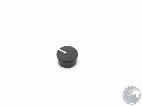 Lid for 4mm knob.black.P864-25