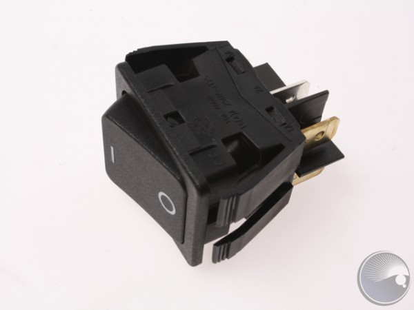 Mains switch 2 pole 277V 20A