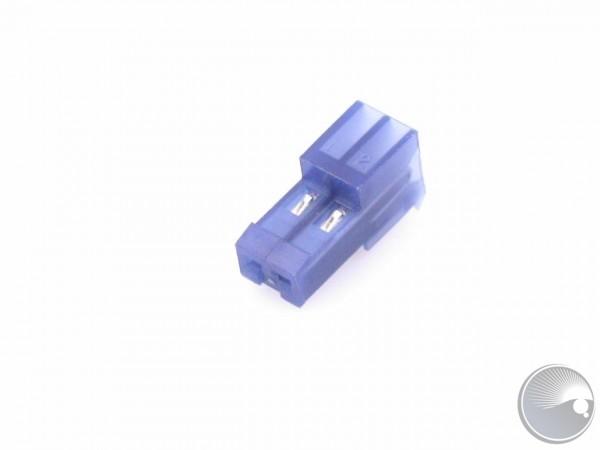 Martin Plug female angle, wire, 2 pol