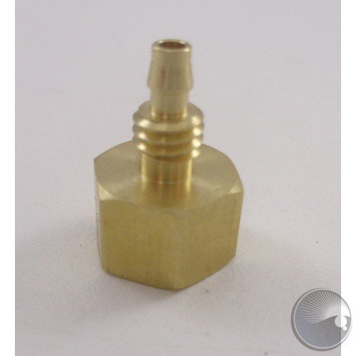 Male Copper connector for pump-to-hose connection (BOM#12)