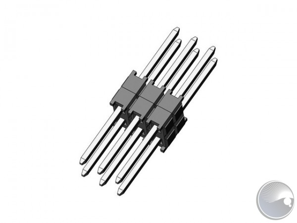 6 Pin connector 2,54 spacing