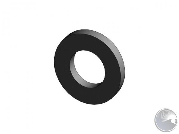 M6 washer 6,4/12x1,6 black