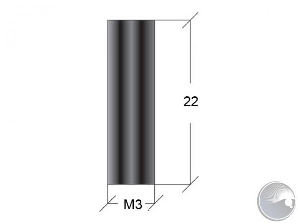 M3x22 stand off f7/f7 black