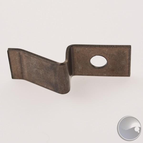 Transistor clip for heatsink