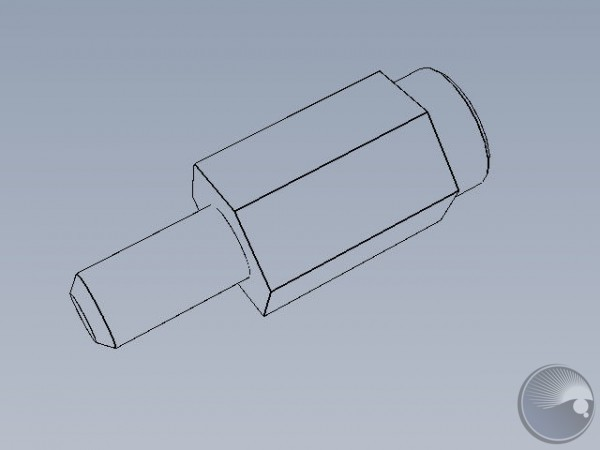 M3x10 stand off m6/bold head