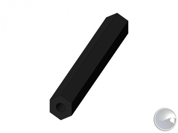 M4x55 stand off f9/f9 black