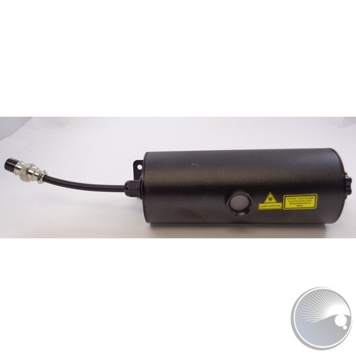 Complete red & green laser assembly