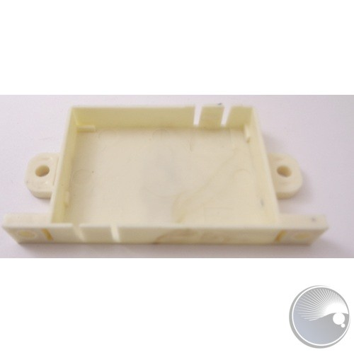 Holder plate for the laser driver PCB L68xW36.3xH8.5mm ABS765A (BOM#3)