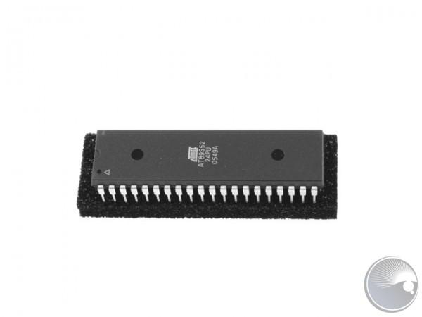 89C52 CMOS uP, 24MHz