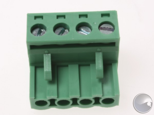 5.08mm Vertical cable entry plug 4pole