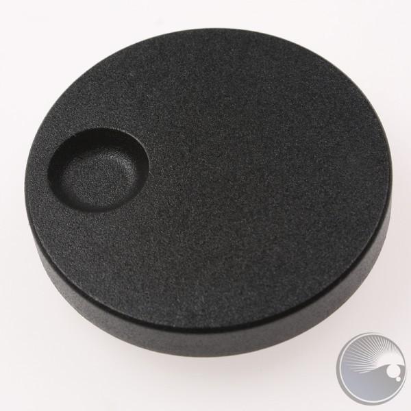 Martin Encoder knob black D=45 H=6 Axis=6 w. fi