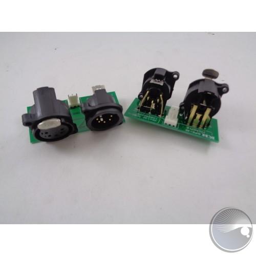 5-pin DMX PCB DMX-38-1 (BOM#13)